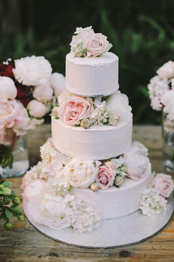 Beautiful Simple Wedding Cakes  Wedding cakes Cakes and Cake ideas on Pinterest