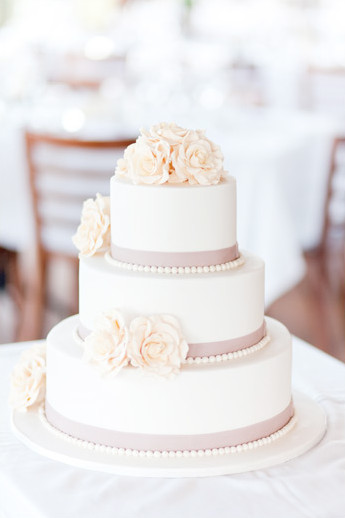 Beautiful Simple Wedding Cakes  Wedding Inspiration Vintage Rose