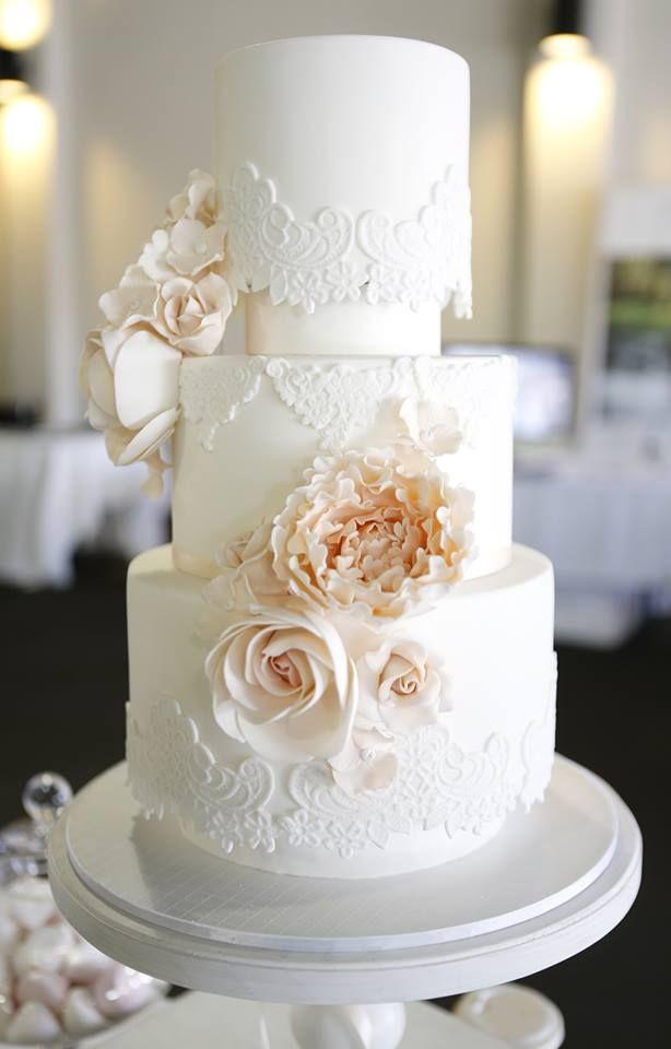 Beautiful Simple Wedding Cakes  Wedding Cakes that are Elegantly Simple MODwedding