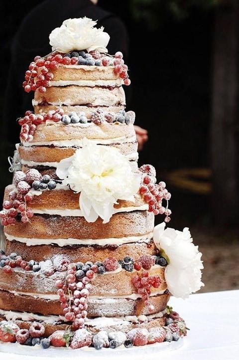 Beautiful Simple Wedding Cakes  103 Fabulous Winter Wedding Cakes