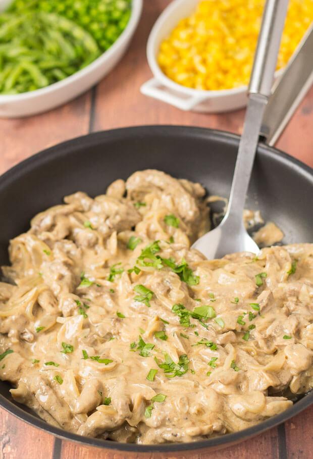 Beef Stroganoff Healthy  Quick Healthy Beef Stroganoff Neils Healthy Meals