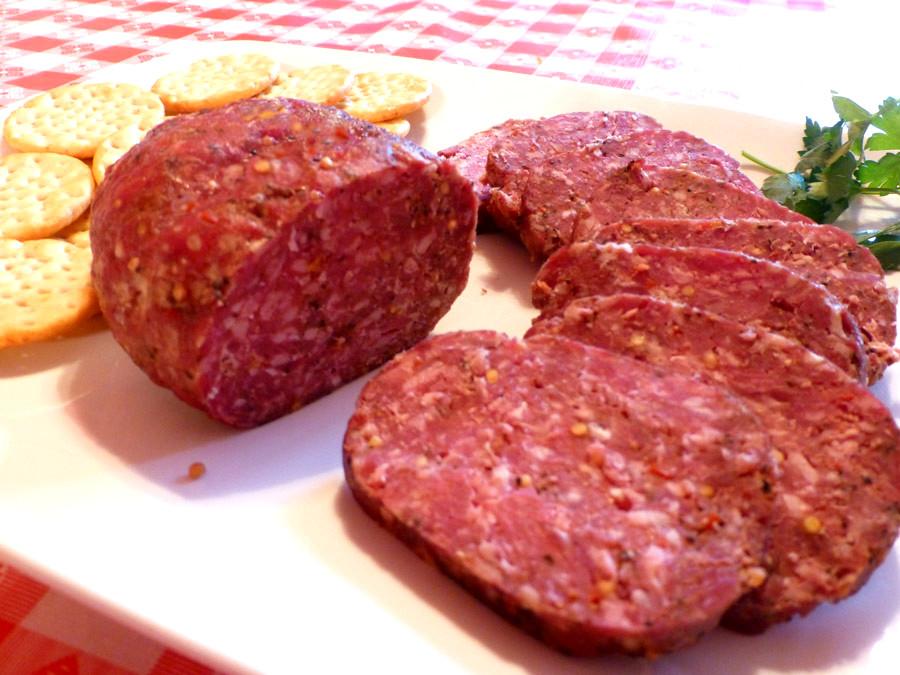Beef Summer Sausage Recipes  Pam s Midwest Kitchen Korner Bubba's Homemade Summer