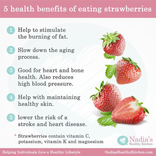 Benefits Of Healthy Snacks  Five Health Benefits of Eating Strawberries UK Health