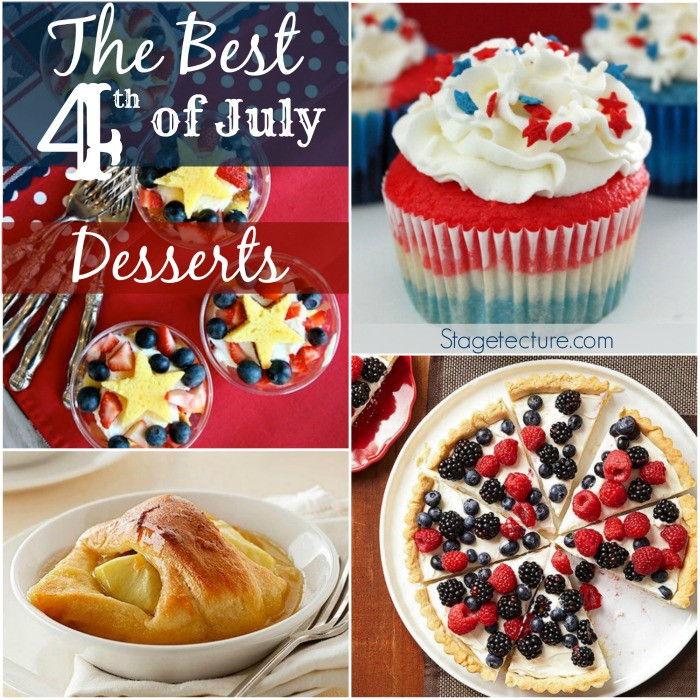 Best 4Th Of July Desserts  The Best 4th of July Desserts this Summer