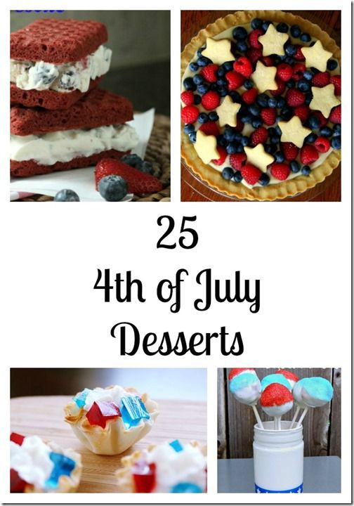 Best 4Th Of July Desserts  17 Best images about 4th of July on Pinterest