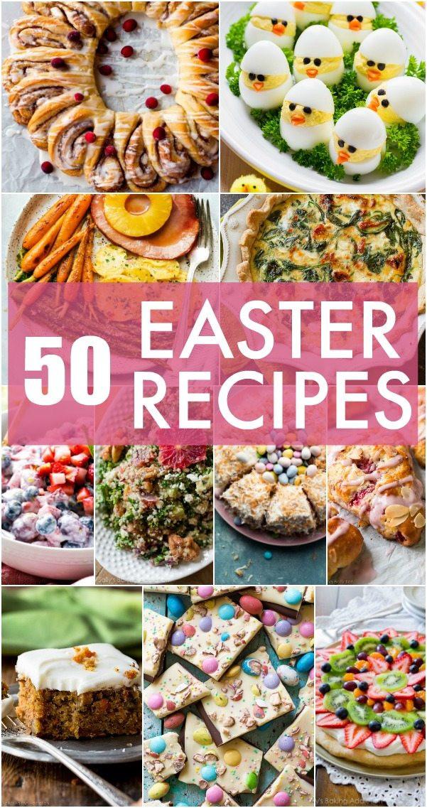 Best Easter Dinner Menu  50 Easter Menu Recipes Sally s Baking Addiction