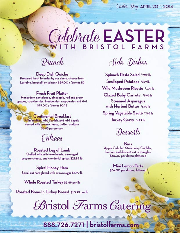 Best Easter Dinner Menu  Easter Brunch The Brunch of All Brunches West