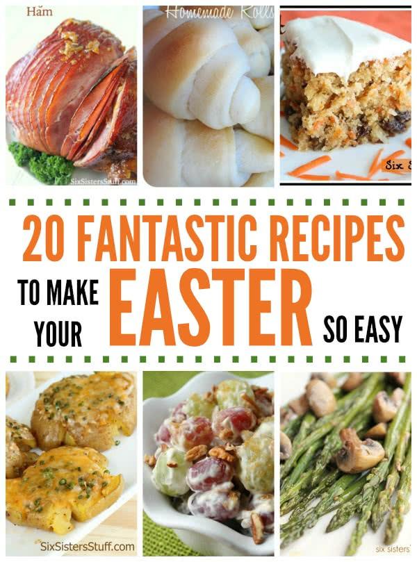 Best Easter Dinner Recipes  20 Fantastic Recipes for Easter Dinner