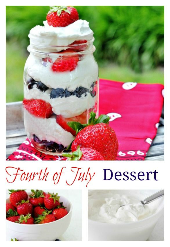 Best Fourth Of July Desserts  17 Best images about Fourth of July on Pinterest