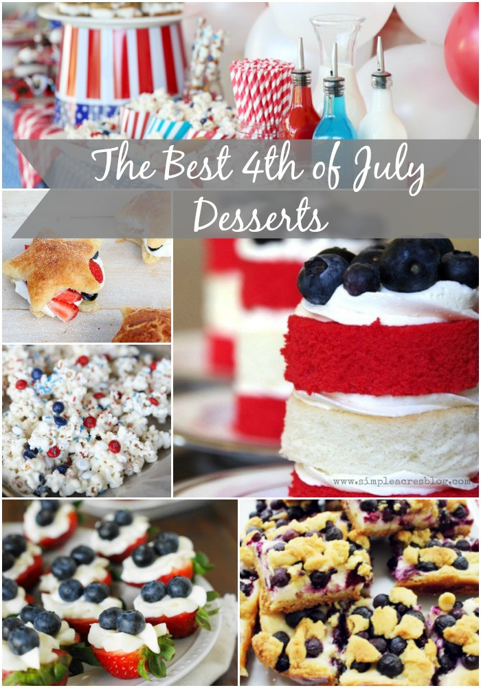 Best Fourth Of July Desserts  The Best Fourth of July Desserts Simple Acres Blog