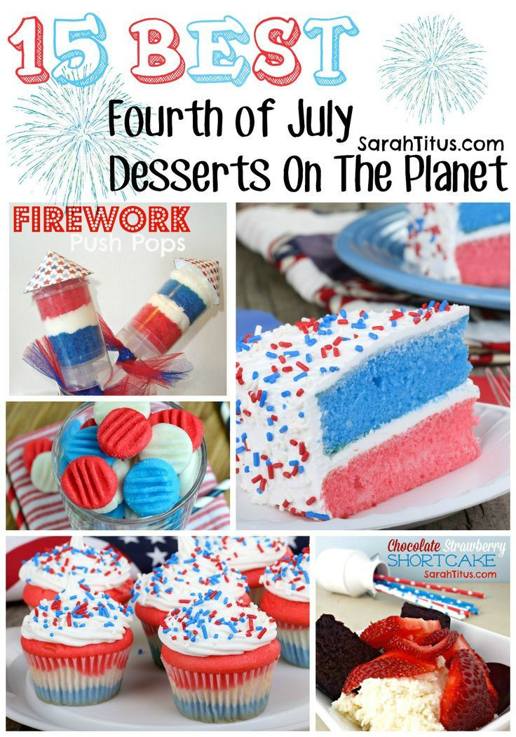 Best Fourth Of July Desserts  38 best images about 4th of july on Pinterest