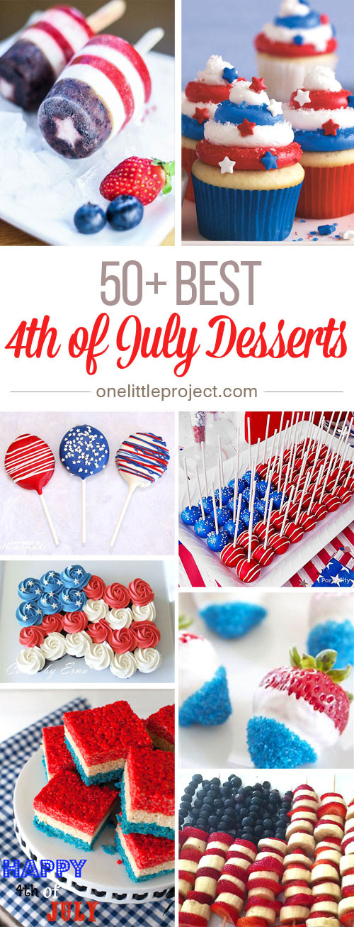 Best Fourth Of July Desserts  50 Best 4th of July Desserts and Treat Ideas