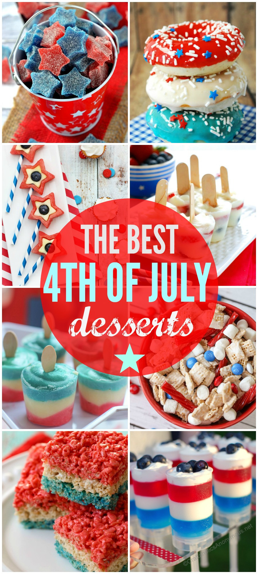 Best Fourth Of July Desserts  4th of July Desserts
