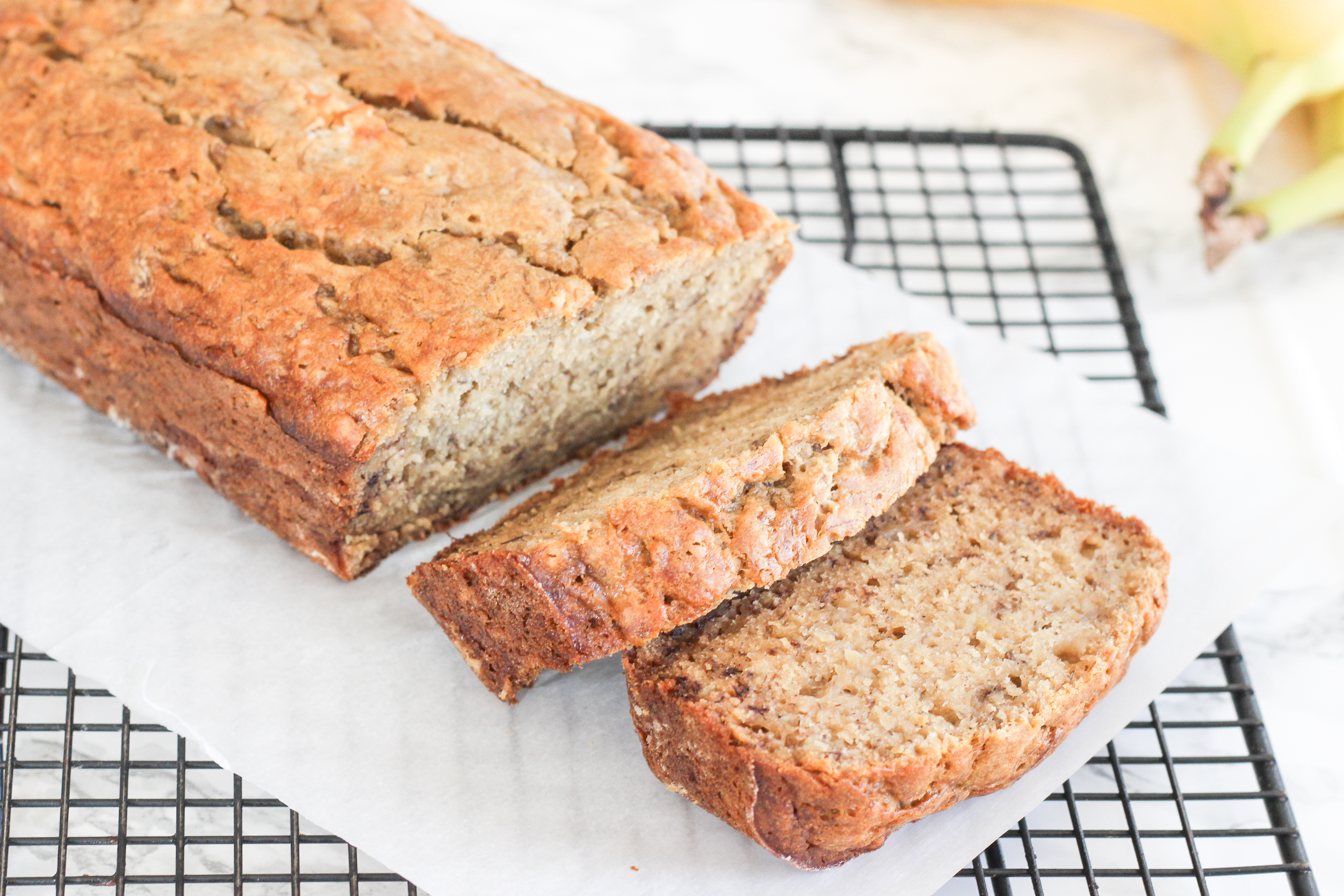 Best Healthy Bread Recipe  THE BEST HEALTHY BANANA BREAD RECIPE