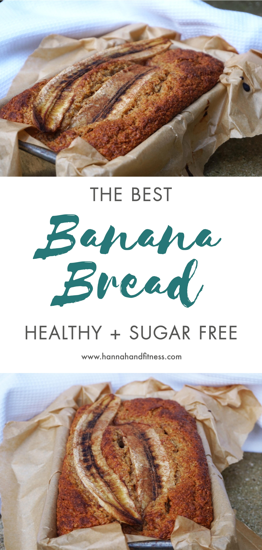 Best Healthy Bread  The Best Healthy Banana Bread Hannah & Fitness