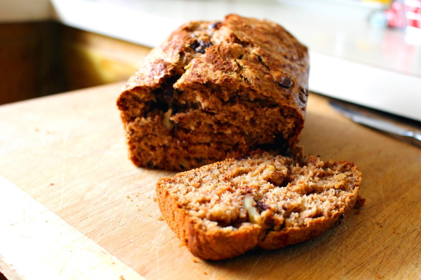 Best Healthy Bread  The Best Healthy Banana Bread Kat Cupcake