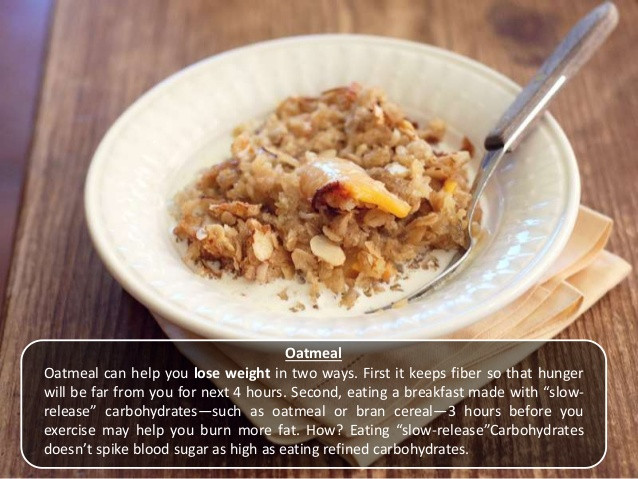Best Healthy Breakfast For Weight Loss  Top 5 healthy breakfast foods for weight loss