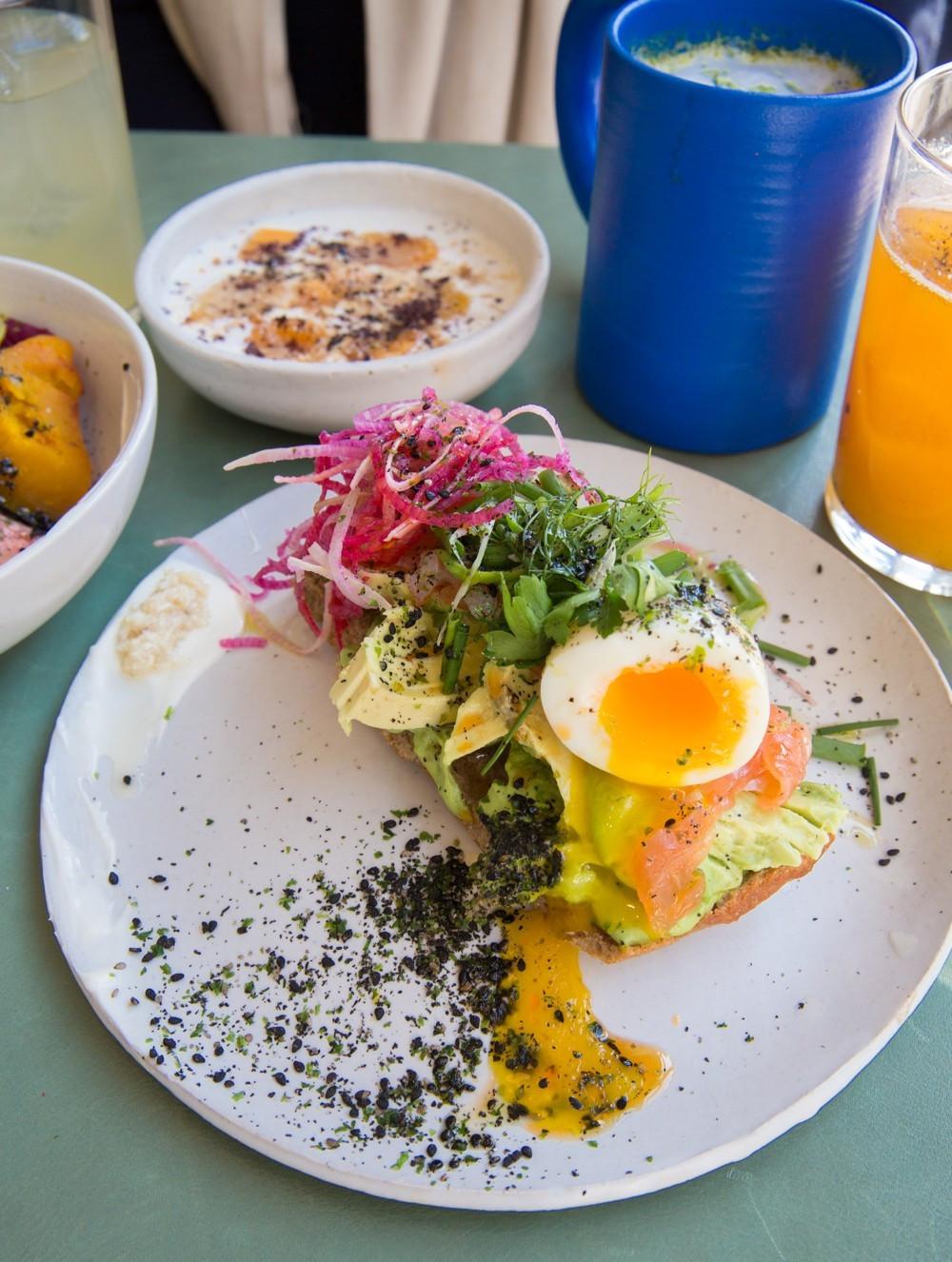 Best Healthy Breakfast Nyc  The Londoner Best Healthy Brunch in New York