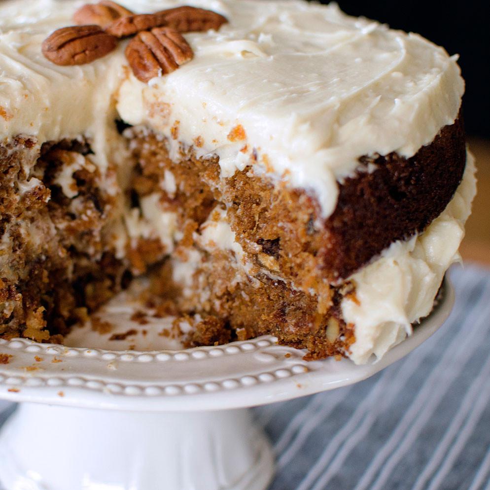 Best Healthy Carrot Cake Recipe  Best Carrot Cake Recipe