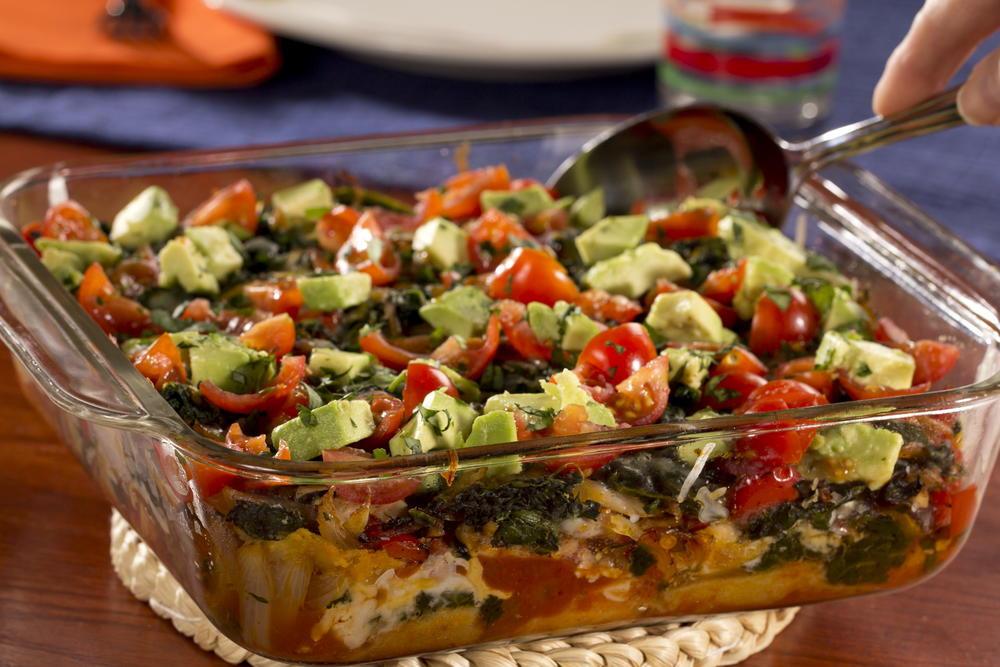 Best Healthy Casseroles  Southwestern Chicken Casserole