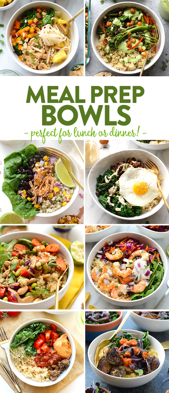 Best Healthy Dinners  The Best Meal Prep Bowl Recipes Around Town Fit Foo