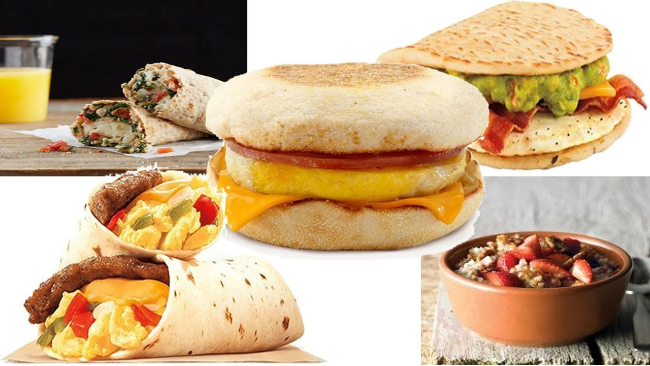 Best Healthy Fast Food Breakfast  Top 5 Healthy Fast Food Breakfast Choice