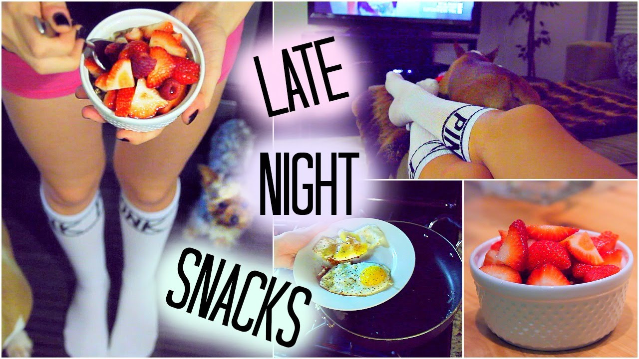 Best Healthy Late Night Snacks  Healthy Late Night Snack Ideas