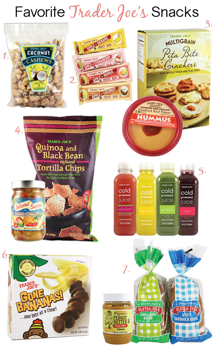 Best Healthy Snacks At Trader Joe'S  Healthy Snacks Archives