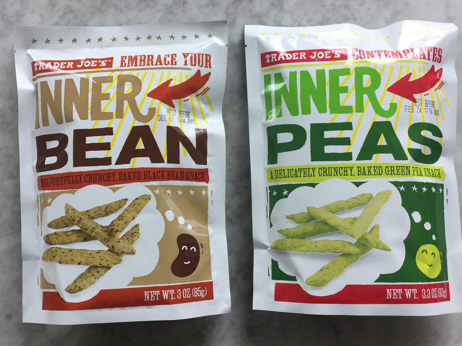 Best Healthy Snacks At Trader Joe'S  Trader Joe s Inner Peas and Inner Beans 19 Healthy