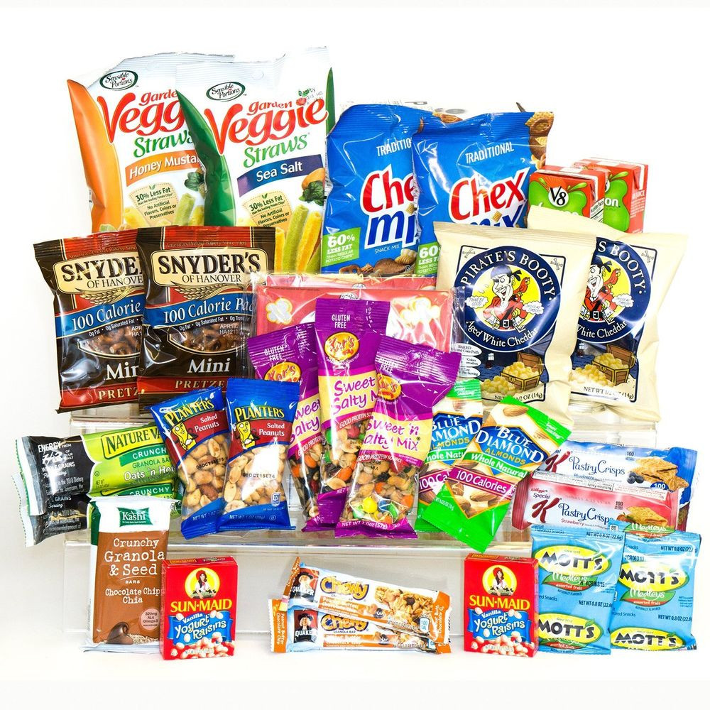 Best Healthy Snacks To Buy  HEALTHY SNACKS IN A BOX COLLEGE MILITARY CAMP CARE PACKAGE