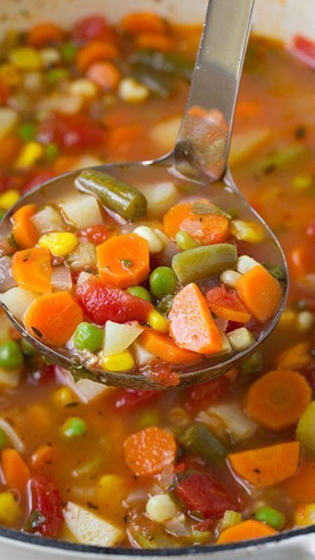 Best Healthy Soups  17 Best ideas about Ve able Soups on Pinterest