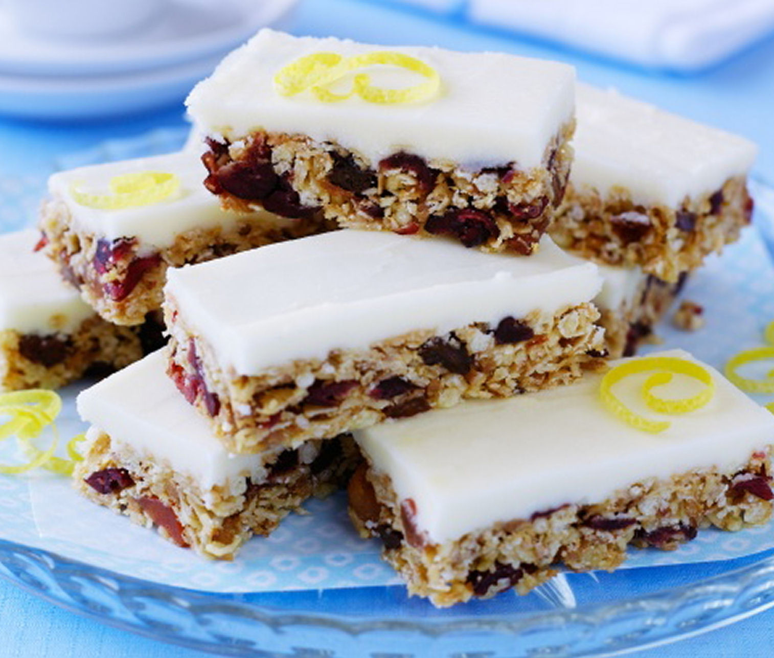 Best Healthy Sweet Snacks  Cranberry Lemon Snack