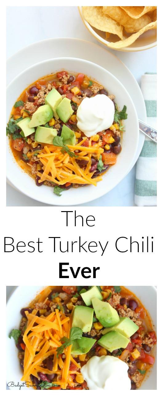 Best Healthy Turkey Chili Recipe  best ground turkey chili recipe ever