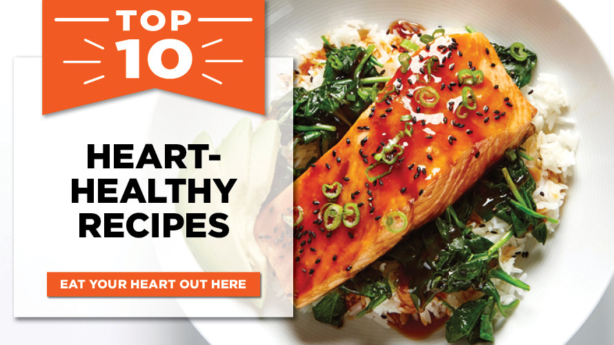 Best Heart Healthy Recipes  TOP 10 Heart healthy Recipes Features