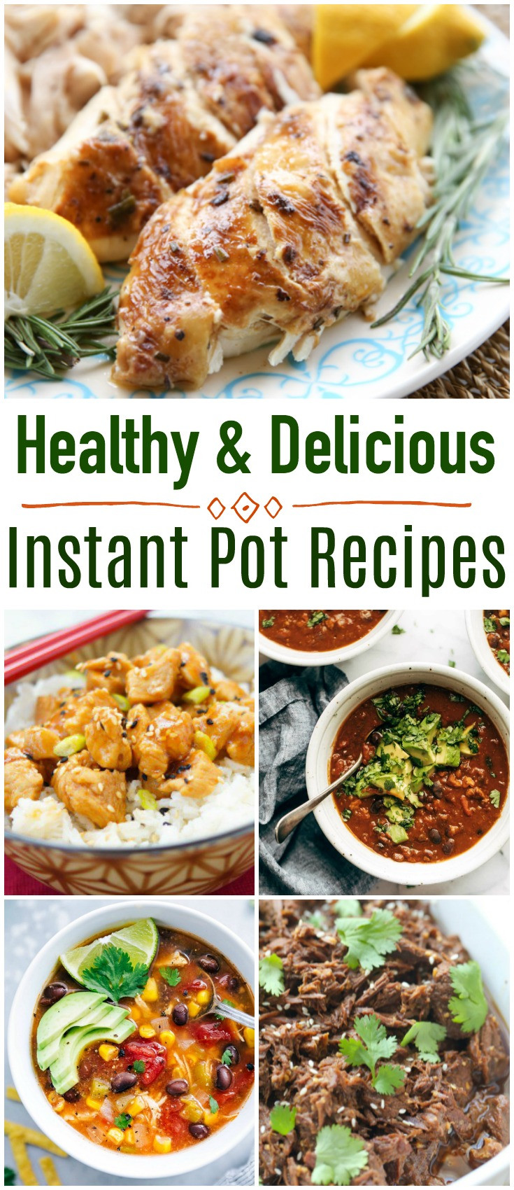 Best Instant Pot Recipes Healthy  Healthy and Delicious Instant Pot Recipes