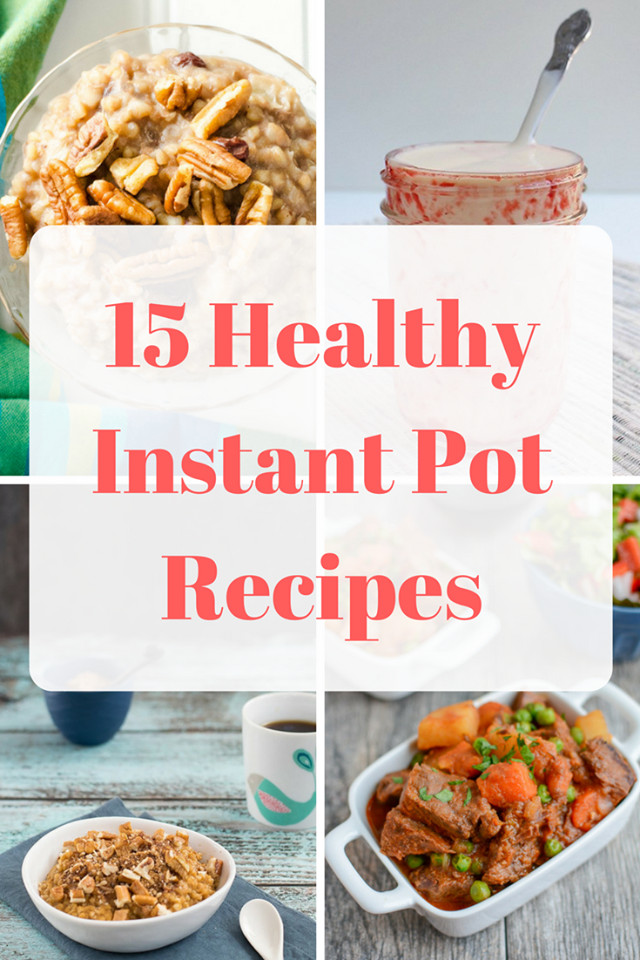 Best Instant Pot Recipes Healthy  15 Healthy Instant Pot Recipes Mom Saves Money