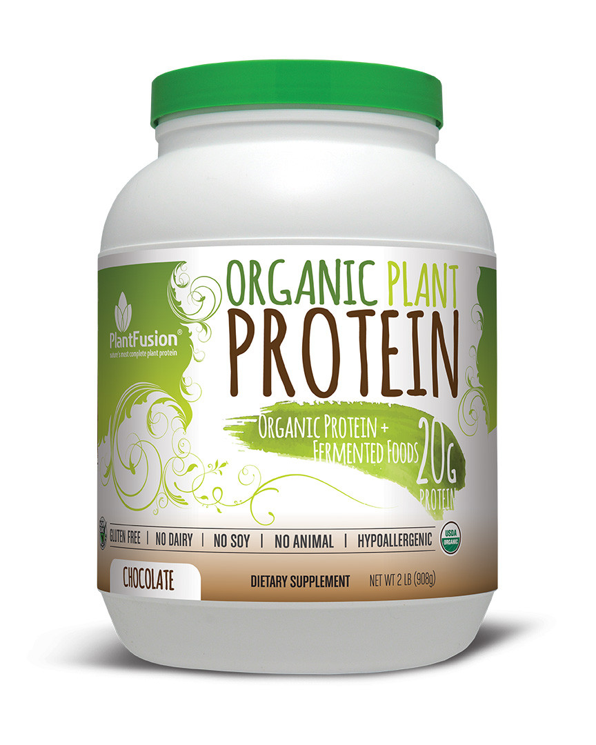 Best Organic Vegetarian Protein Powder  Organic PlantFusion Protein 2lb OFF