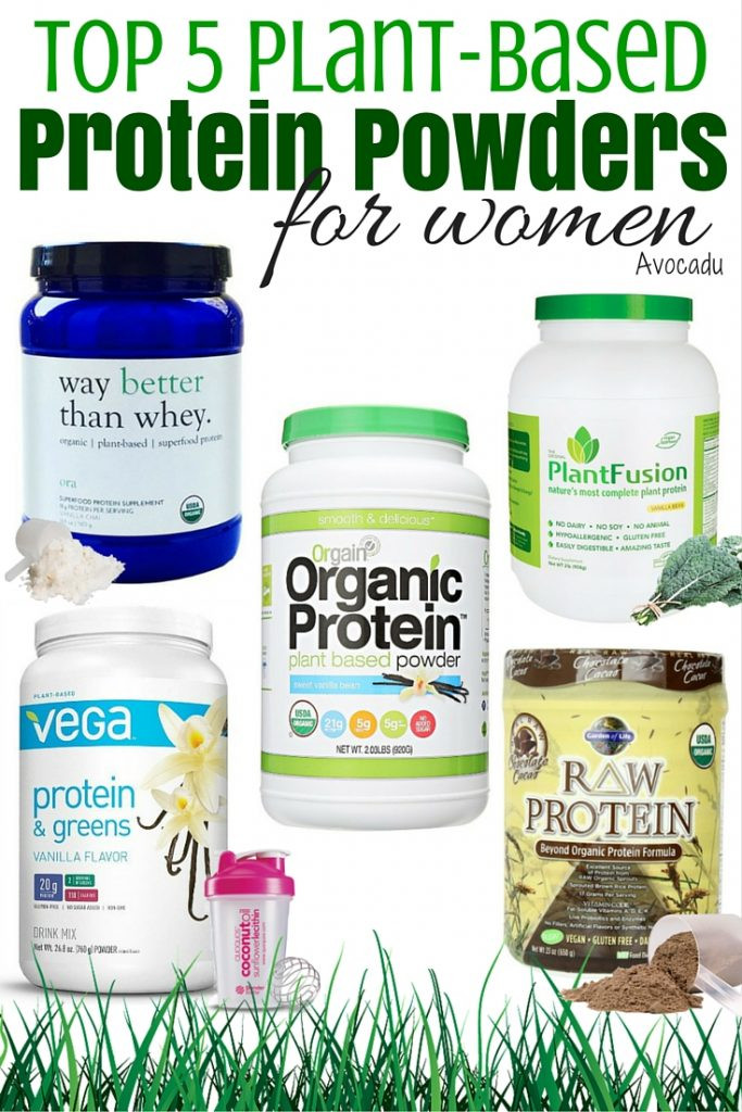 Best Organic Vegetarian Protein Powder  Top 5 Plant Based Protein Powders for Women