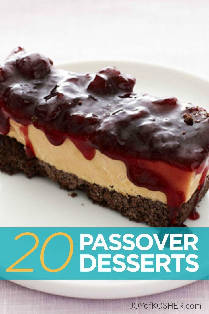 Best Passover Desserts  92 best Passover Desserts images on Pinterest