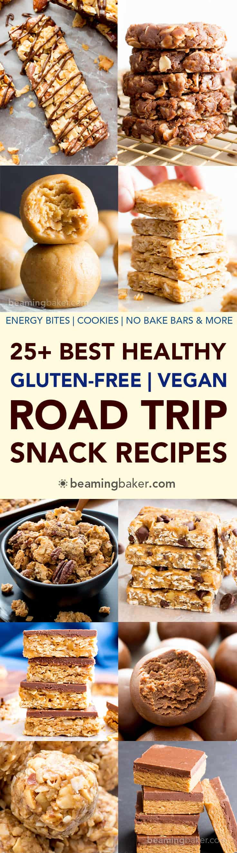 Best Road Trip Snacks Healthy  25 Best Healthy Road Trip Snacks Recipes Vegan Gluten