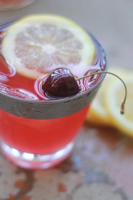 Best Rum Drinks For Summer  Summer Sunset Cocktail Cherry Lemonade Spiced Rum