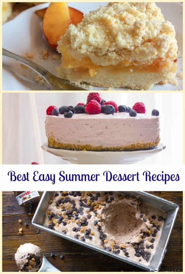 Best Summer Dessert Recipes  Best Easy Summer Dessert Recipes