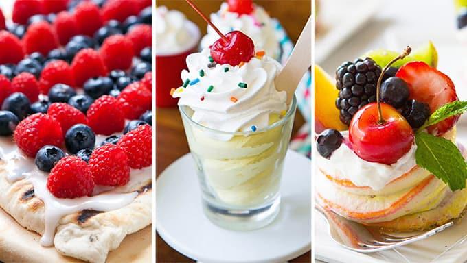 Best Summer Desserts  Best of Summer Desserts Tablespoon