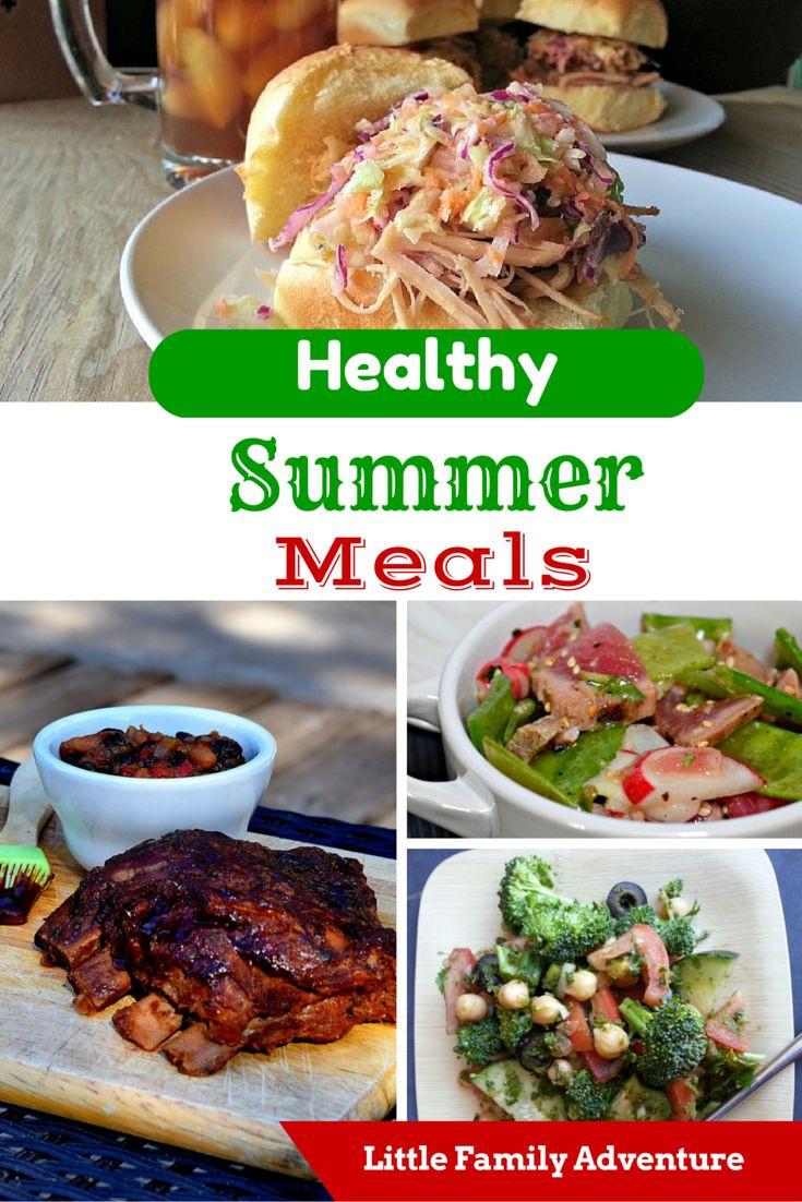 Best Summer Dinners  25 best ideas about Summer meal planning on Pinterest