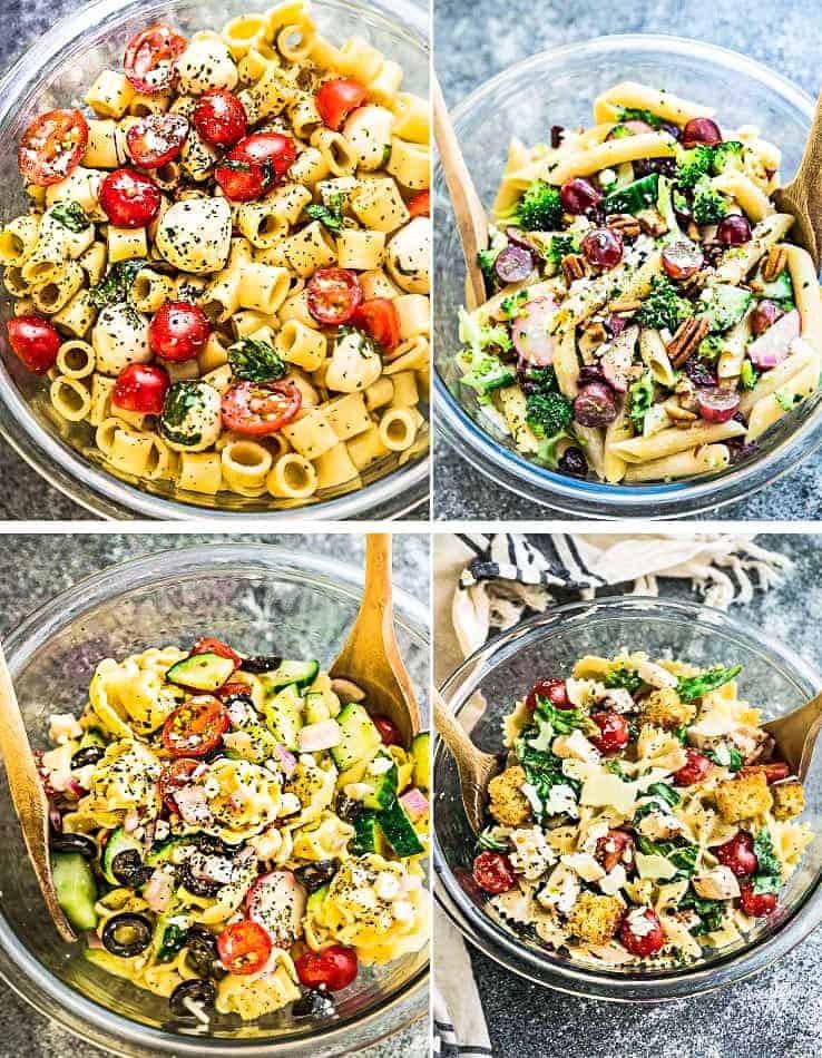 Best Summer Pasta Salad  4 Ways to Make the BEST Pasta Salad