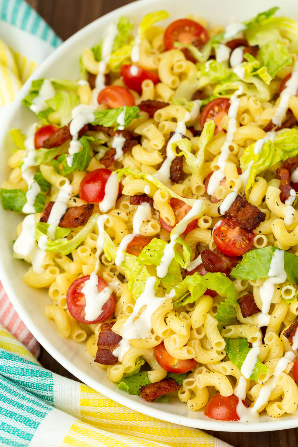 Best Summer Pasta Salad  best cold pasta salad