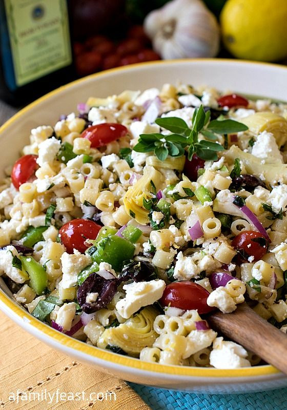 Best Summer Pasta Salad  The BEST Pasta Salad Recipe Collection Page 2 of 2