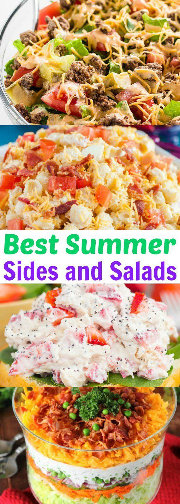 Best Summer Side Dishes  25 best ideas about Summer side dishes on Pinterest
