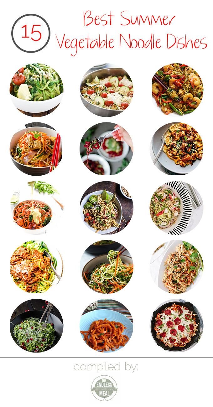 Best Summer Vegetarian Recipes  The 15 Best Summer Ve able Noodle Dishes