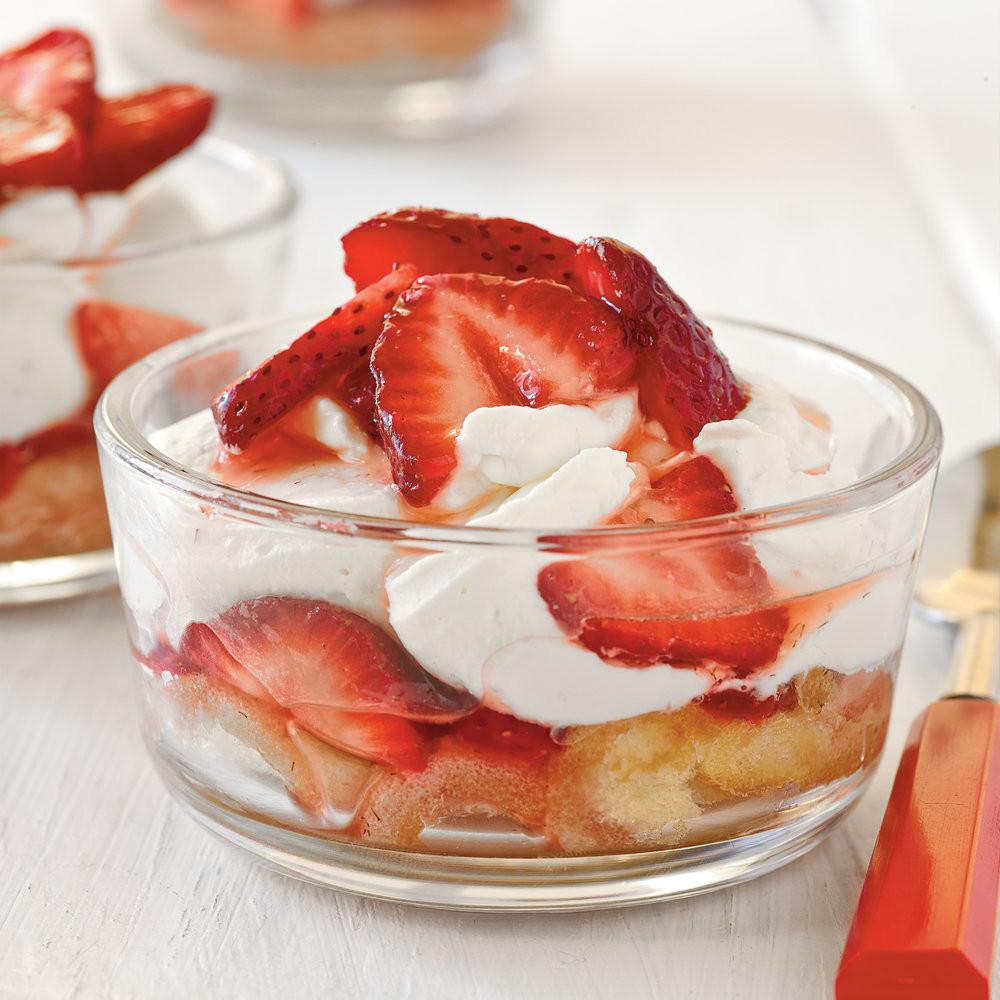 Best Summertime Desserts  Mini Strawberry Shortcakes Recipe Best Summer Desserts